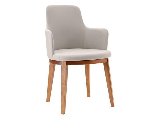 Cadeira com Braço Dora - Creme, Cinza | WestwingNow