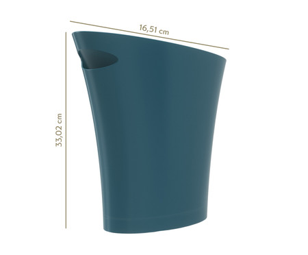Lixeira Leo Azul - 7,5L   WestwingNow