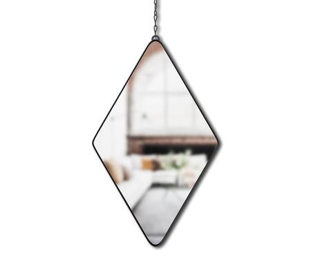 Jogo de Espelho de Parede Diamond - Preto | WestwingNow
