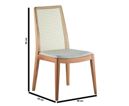 Cadeira de Madeira Agnes - Creme | WestwingNow