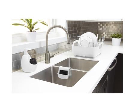 Dispenser para Detergente com esponja Joyce - Branco | WestwingNow