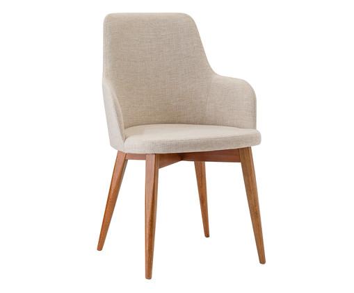 Cadeira com Braços Dora - Creme, Bege | WestwingNow