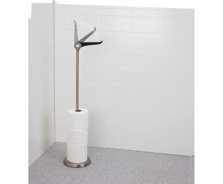 Porta Papel Higiênico Winnie - Prata | WestwingNow