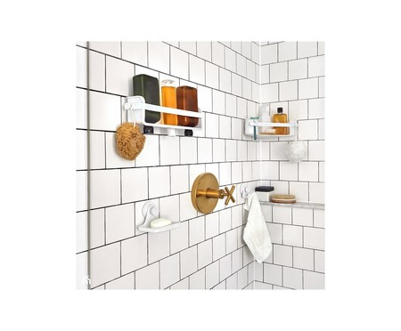 Organizador de Banheiro Felipe - Branco | WestwingNow