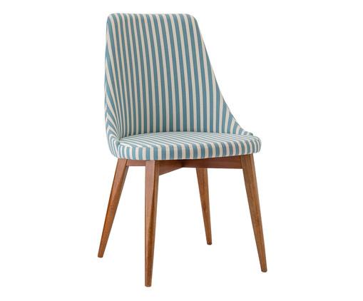 Cadeira Dora - Azul e Branco, Branco, Azul, Colorido | WestwingNow
