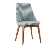 Cadeira Dora - Azul e Branco | WestwingNow