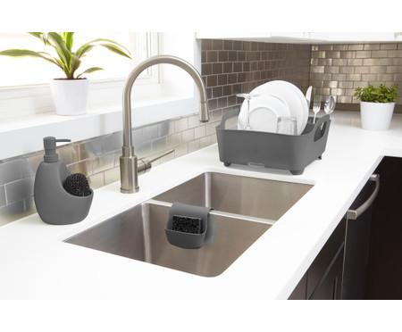 Dispenser para Detergente com esponja Joyce - Cinza | WestwingNow
