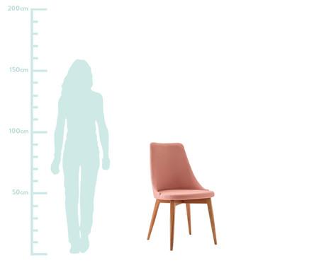 Cadeira em Madeira Dora - Rosa | WestwingNow