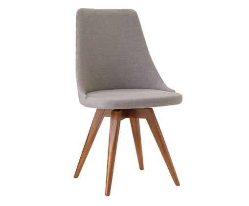 Cadeira Ella - Cinza, Cinza | WestwingNow