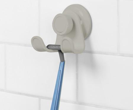 Cabideiro de Banheiro Felipe - Cinza | WestwingNow
