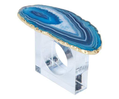 Anel para Guardanapo de Ágata Matilde - Azul, Azul | WestwingNow