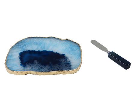 Prato para Aperitivo de Ágata Julie - Azul | WestwingNow