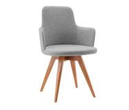 Cadeira Giratória Tina - Cinza | WestwingNow