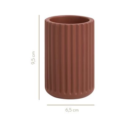 Copo em Cimento Jani - Terracota | WestwingNow