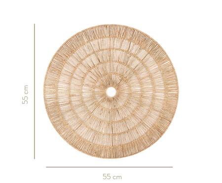 Adorno de Parede em Fibra Natural Tauan - Bege | WestwingNow