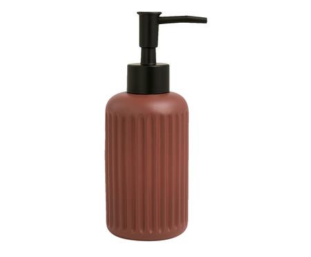 Dispenser para Sabonete Líquido em Cimento Cassie - Terracota | WestwingNow