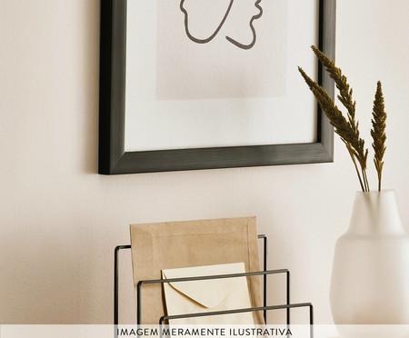 Vaso em Vidro Marci l - Branco | WestwingNow