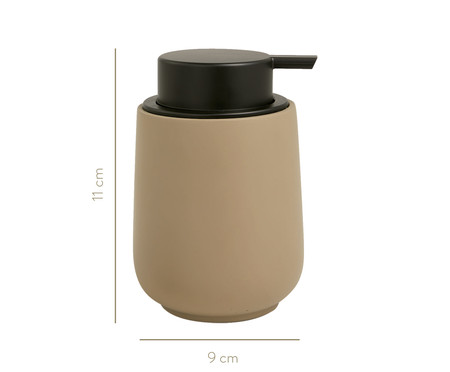 Dispenser para Sabonete Liquido em Cimento Paula - Cinza | WestwingNow