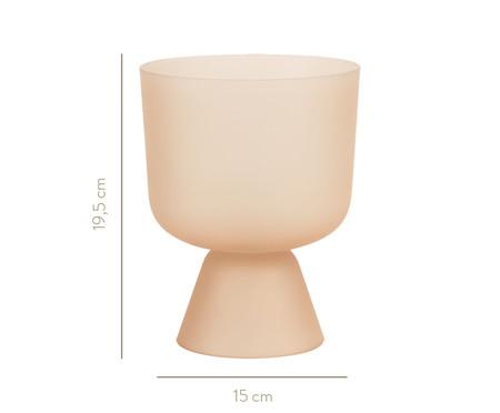 Vaso em Vidro Inês ll - Rosé | WestwingNow