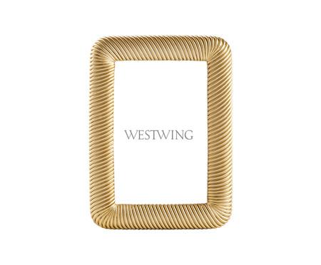 Porta-Retrato Jocelyn - Dourado | WestwingNow
