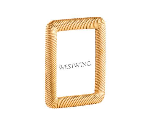 Porta-Retrato Jocelyn - Dourado, Dourado   WestwingNow