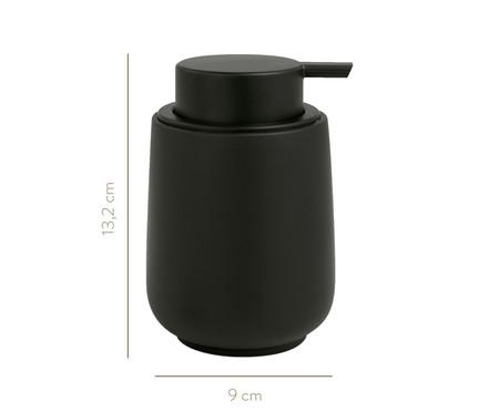 Dispenser para Sabonete Liquido em Cimento Paula - Preto | WestwingNow