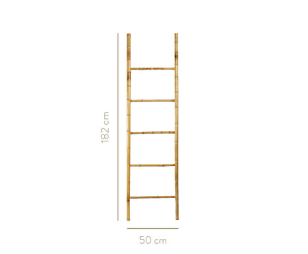 Escada Decorativa em Bambu Ilma - Bege | WestwingNow