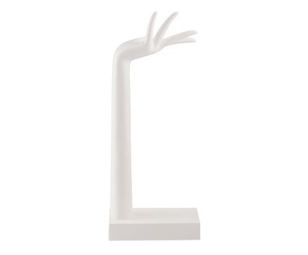 Escultura de Mão Sabrina - Branco | WestwingNow