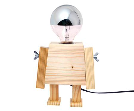 Luminária de Mesa Robô Girl - Bivolt   WestwingNow