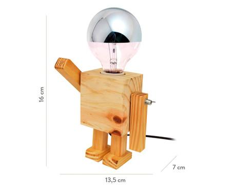 Luminária de Mesa Robô Boy - Bivolt   WestwingNow