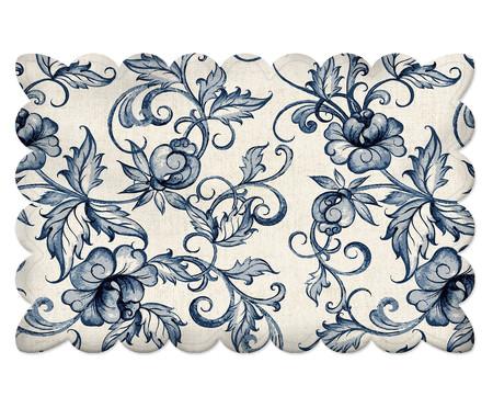 Lugar Americano Flowers Traditional - Azul | WestwingNow