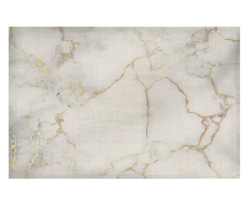 Lugar Americano Marble - Estampado, Branco | WestwingNow