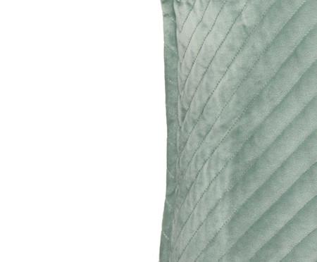 Almofada em Veludo Zig Zag Verde Água - 50x50cm | WestwingNow