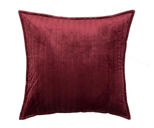 Almofada em Veludo  Ripado Vinho - 50x50cm, VINHO | WestwingNow