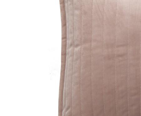 Almofada em Veludo  Ripado Bege - 50 x50cm   WestwingNow