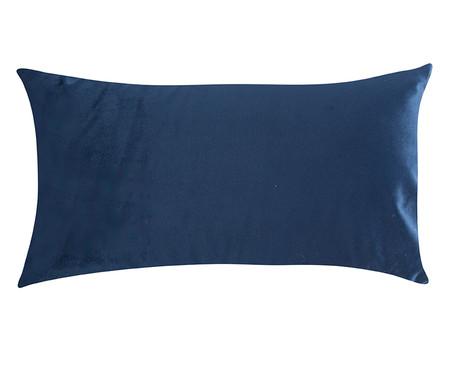 Almofada em Veludo  Ripado Marinho - 30x50cm | WestwingNow