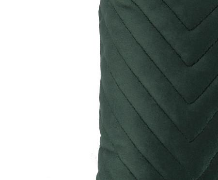 Almofada em Veludo Zig Zag - Verde - 30x50cm | WestwingNow