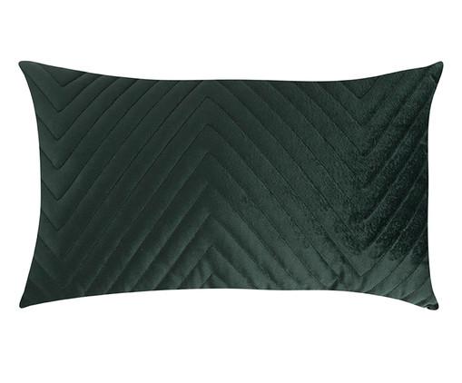 Almofada em Veludo Zig Zag - Verde - 30x50cm, verde | WestwingNow