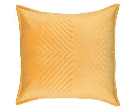 Almofada em Veludo Zig Zag - Bernadine - Amarelo | WestwingNow