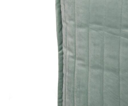 Almofada em Veludo  Ripado Verde Água - 50x50cm | WestwingNow
