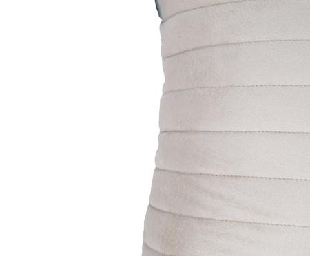 Almofada em Veludo  Ripado Gelo - 30x50cm | WestwingNow