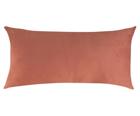 Almofada em Veludo Zig Zag Terracota - 30x50cm | WestwingNow
