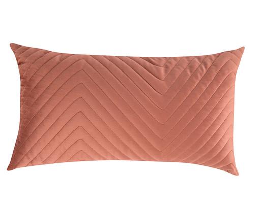 Almofada em Veludo Zig Zag Terracota - 30x50cm, marrom | WestwingNow