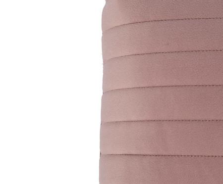 Almofada em Veludo  Ripado Rosé - 30x50cm | WestwingNow