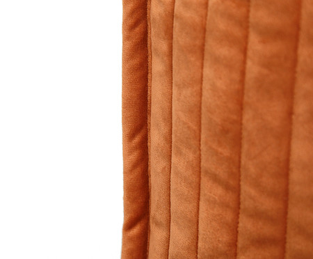 Almofada em Veludo  Ripado Terra - 50x50cm   WestwingNow