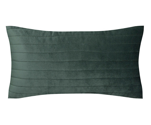 Almofada em Veludo  Ripado Verde - 30x50cm, verde | WestwingNow