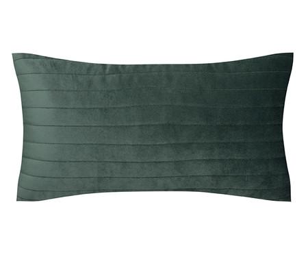 Almofada em Veludo  Ripado Verde - 30x50cm | WestwingNow
