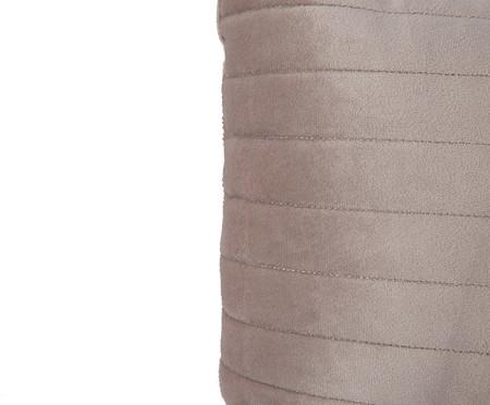 Almofada em Veludo  Ripado Bege - 30 x50cm | WestwingNow