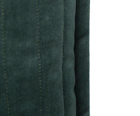 Almofada em Veludo  Ripado Verde - 50x50cm | WestwingNow