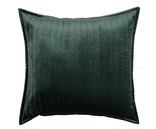 Almofada em Veludo  Ripado Verde - 50x50cm, verde | WestwingNow